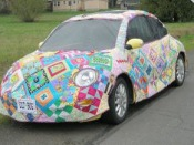 quilted car