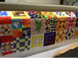 quilted side panel