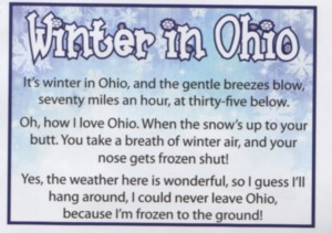 Winter in Ohio