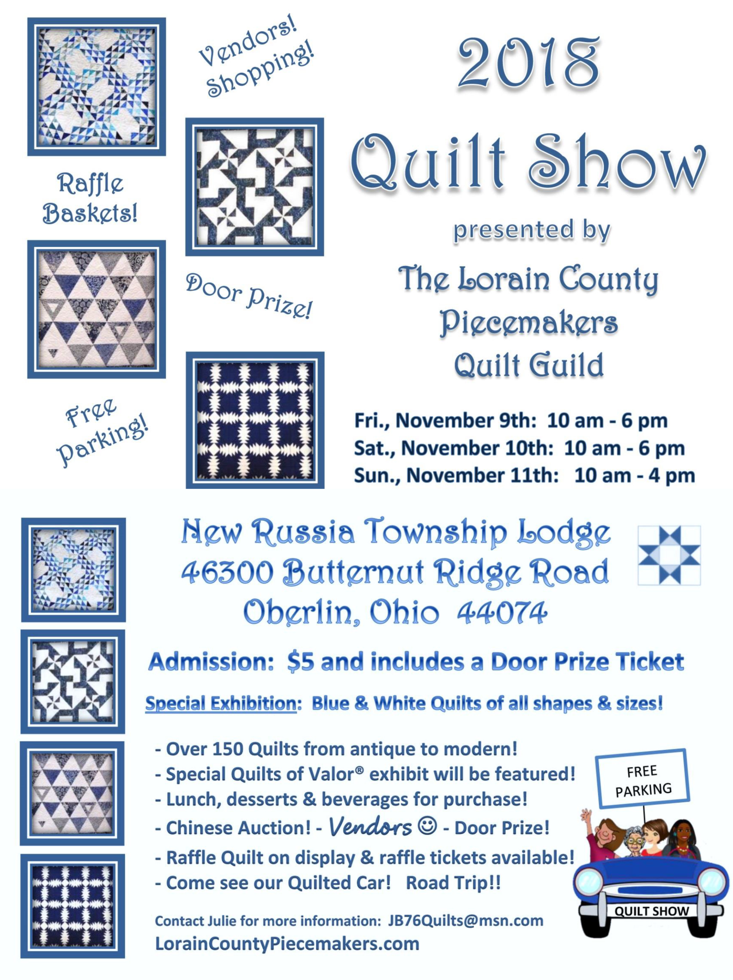 2018 Quilt Show Lorain County Piecemakers Guild